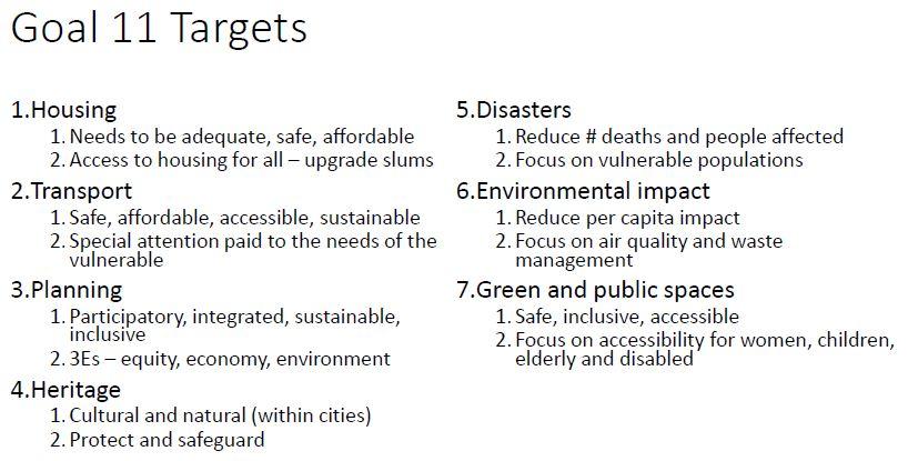 SDG11Objectives