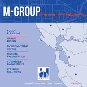 M-Group, a new design on urban planning. Policy planning, urban design, environmental review, historic preservation, community engagement, staffing solutions