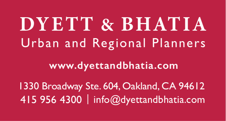 Dyett and Bhatia, Urban and regional planners