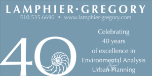 Celebrating 40 years of excellence in Environmental Analysis and Urban Planning