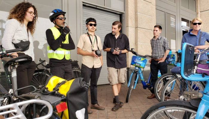 Exploring Oakland by bike