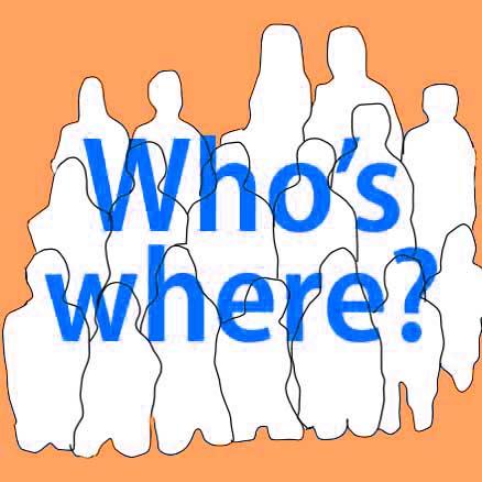 Who's Where