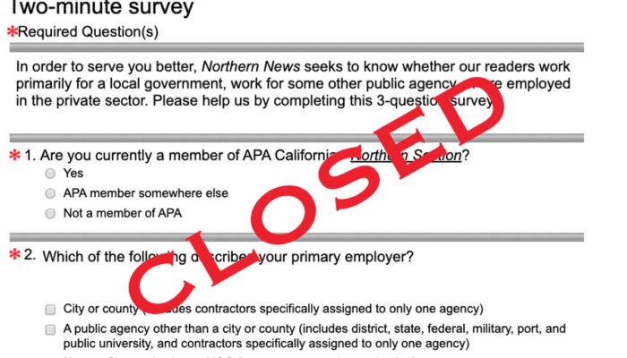 Here are the Northern News survey results