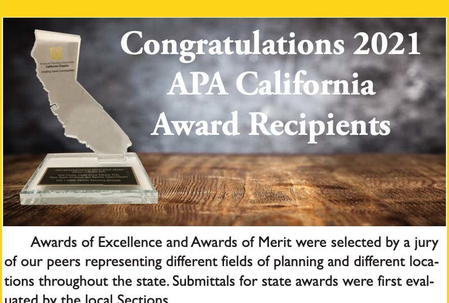 Locals win state and national APA Awards