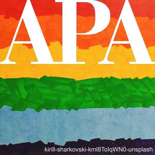 Snapshots of APA ethnicity and gender
